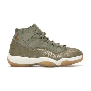 Jordan 11 retro Neutral Olive.